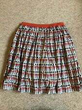 Cath Kidston Soldier Skirt Size 8