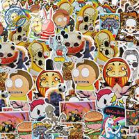600 Random Skateboard Stickers Vinyl Laptop Luggage Decals Dope Sticker Lot Mix