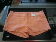 Almost Famous Women's Size 11 Orange/coral Short