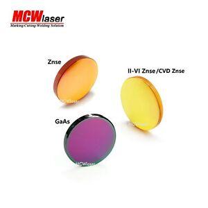 MCWlaser CVD ZnSe GaaS Lens for CO2 Laser Engraver Cutter 12 15 18 19 20 25mm