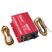 Kinter MA-150 mini amplificatore auto automobile stereo hi-fi 500W 2 canali HQ