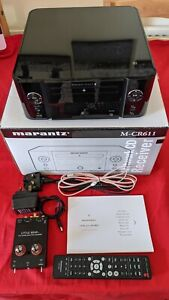 Marantz MCR611 Media Network Receiver Black Boxed +Valve Phono Preamp for Vinyl