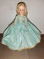 "Vtg Rare Madame Alexander Sleeping Beauty Doll 9"" Sleepy Eyes Strung"