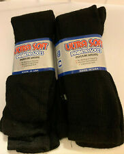 "Ultra Soft Diabetic Socks Size 13-15  12 Pairs. Black    ""Free Shipping"""