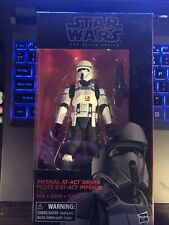 """Star Wars Black Series 6"""" IMPERIAL AT-ACT DRIVER Target Exclusive"""