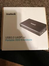 "Inateck USB 3.0 Hard Disk Drive Enclosure Case Box for 2.5"" / 3.5"" SATA HDD SSD"