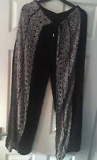 Brand New Ladies Wide Leg Beach Trousers/ Pants Size 8