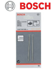 BOSCH 82mm Reversible TCT Replacement Planer Blades Set 1 x Pair, 2607000096