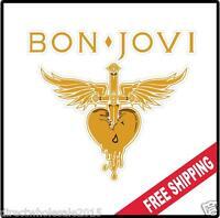Bon Jovi Vinyl Wall logo Decal Sticker Jon 80s Rock Various Sizes