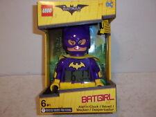 Lego The Batman Movie Batgirl Clock Digital Alarm Light-Up - NEW