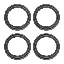 uxcell 12 inches 12inch Perforated Rubber Speaker Edge Surround Rings Replacement Part for Speaker Repair or DIY