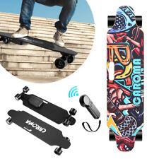 Elektro Skateboard E-Skateboard mit Funkfernbedienung 20 km/h Longboard 700W DE