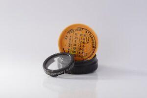 Kodak no. 6 Portrait Attachment filter with plastic case & instructions
