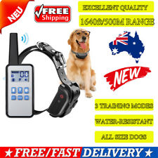 Rechargeable Remote Control Dog Training Collar Electric Trainer Anti Bark 500M