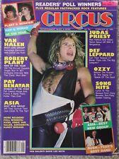 Circus Magazine Feb 1983 Van Halen, Asia, Robert Pland, Ozzy, Judas Priest
