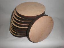 10 Multiplexplatten Holzscheiben Lackiert ca.130x15mm Multiplex Platte Holz