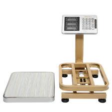 Platform Scale Mini 80kg176bs Wireless Lcd Display Personal Floor Postal Gold
