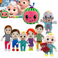 Plush Toys Cocomelon JJ's Family Educational Soft Stuffed Doll Kids Xmas Gift