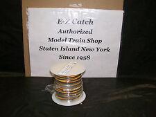 Gar Graves O Gauge # 3CW22-1 Flat Wire, 3 Conductor, 22 Ga, Ylw-Red-Grn 100 Foot
