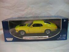 1970.- Ford Mustang Boss 429 azul (mx73154bl).