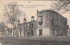 GUERRE 14-18 WW1 SOMME AMIENS la chapelle de l'hôpital saint-charles BRITSH SUB