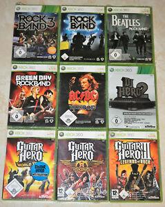 *All New & Sealed* XBox 360 The Beatles Rockband 1 3 DJ Guitar Hero 2 III PAL