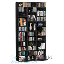 1116 Cd/528 DVD Storage Shelf Rack Unit Adjustable Book BLURAY Video
