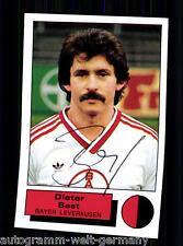 Dieter velours rouge-blanc manger panini sammelbild 1986 orig. sign. + a 69179