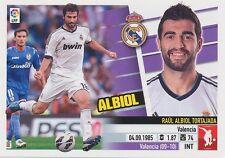 N°06B RAUL ALBIOL # ESPANA REAL MADRID STICKER PANINI ESTE LIGA 2014