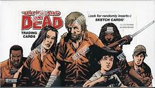 THE WALKING DEAD COMIC BOOK TRADING CARDS BOX (FACTORY SEALED)