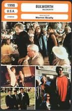 BULWORTH - Warren Beatty,Halle Berry (Fiche Cinéma) 1998