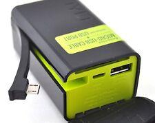 Tylt Powerplant HTC Evo 4G Micro-USB Portable Battery Charger 3D V Shift Hero G2