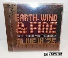 EARTH WIND & FIRE That's The Way... ALIVE IN '75 Rare SACD Audiophile SOUL FUNK