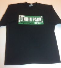 Nwot Linkin Park 2003 Projekt Revolution Tour Black Tee Shirt Size Large Htf