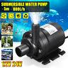 12V/24V Hot Water Circulation Pump Solar Heater Brushless Motor 800L/H 5m Lift