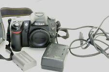 Nikon D80 10,2MP DSLR Kamera, Auslösungen/ shutter count 34517