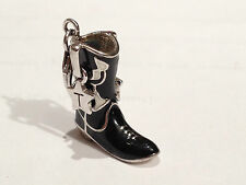 Tingle Charm Cowboy Boot SCH9 Sterling Silver rrp £35