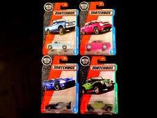 Matchbox Diecast Nissan Junior Dodge Viper Jeep Gladiator Chevy Avalanche 4 cars