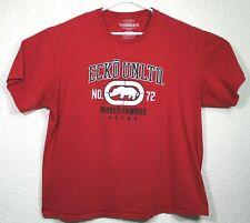 Ecko Unlimited World Famous Mens Red Rhino Short Sleeve Size 2XL T-Shirt EUC