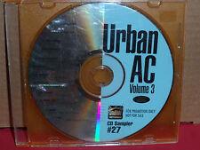 Urban AC Volume 3 PROMO CD Sampler # 27 Bemshi VINX Mona Lisa TEMPTATIONS Najee