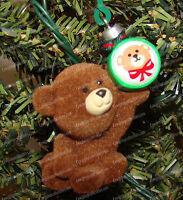QX455-7 Beary Special (Hallmark Christmas Ornament) 1987, Artists Favorites