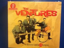 THE. VENTURES.       ABSOLUTELY.ESSENTIAL.     THREE. COMPACT  DISC.COLLECTION.