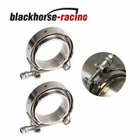 Auto spare parts LGMIN 3.5 inch Car Turbo Exhaust Downpipe V-Band Clamp Stainless Steel 304 Flange Clamp latest product