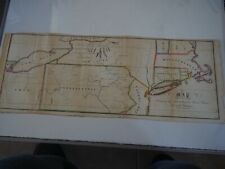 """Antique Map """"Map Illustrating New England Charter claims West of the Delaware"""""""