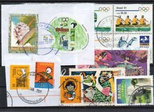Briefmarken Brasilien gestempelt Querbeet (1)