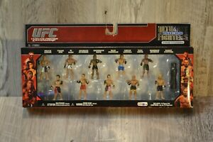 "Jakks Pacific 2010 UFC Ultimate ""MICRO"" Fighter Action Figures - 10 Pack"