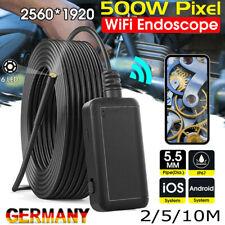 HD 1920P WiFi Endoskop 5.5mm Inspektion Kamera IP67 6LEDs USB Für iPhone Android