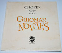 SEALED Guiomar Novaes LP Chopin Etudes op 10 25 piano Vox 510 930 Female Pianist