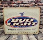 Bud Light Beer Vintage Retro Metal Sign for Man Cave, Garage or Bar