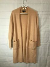 $139 BANANA REPUBLIC ITALIAN WOOL DUSTER LONG SWEATER CARDIGAN SZ XS